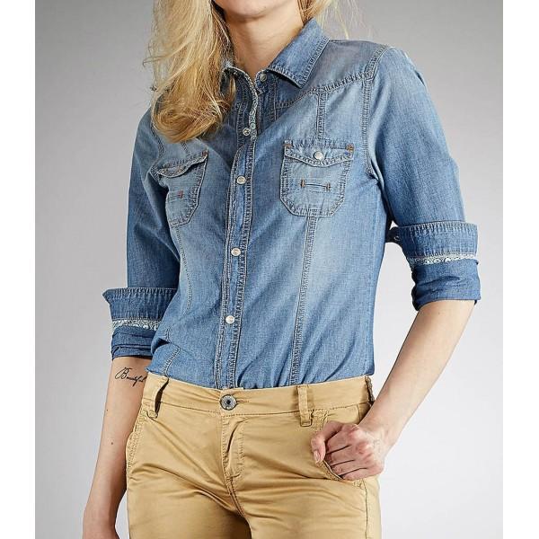 60553d5d1eac Γυναικεία Τζιν  Πουκαμισο Jeans